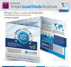social media brochure template socialika tri fold social media brochure startupstacks