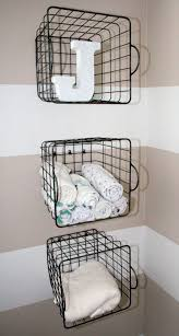 alluring simple ideas for hanging wire basket best ideas about ba