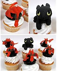 toothless cake topper how to your playset 8 figure cake topper