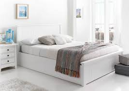 Wooden White Bed Frames New White Wooden Ottoman Storage Bed Ottoman Beds Beds