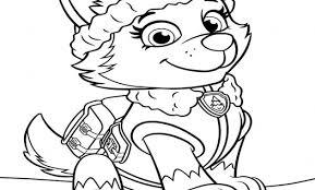 nuovo paw patrol disegni da colorare stampare u2013 topcoloratutto