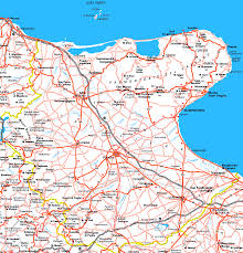 Map Of Puglia Italy by Foggia Map