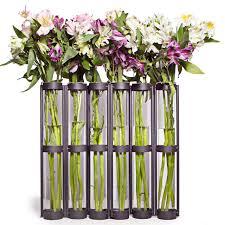 Tall Purple Vase Six Wide Tube 16