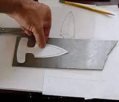 Printable Knife Templates Make A Push Dagger
