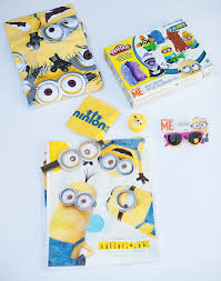 minion gift bags minions party with banana bunt cake a subtle revelry