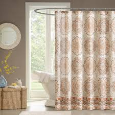 Overstock Curtains Amazon Com Madison Park Mp70 1489 Tangiers Shower Curtain 72 X