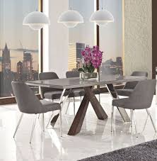 cappuccino dining room furniture collection vanda dining table and chairs dining tables pinterest dining