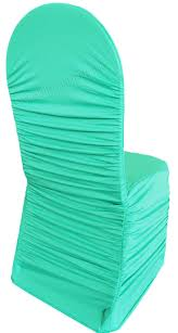 Spandex Chair Covers Wholesale Tiffany Blue Aqua Ruched Rouge Spandex Stretch Chair Covers Wholesale