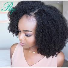 mongolian hair virgin hair afro kinky human hair weave afro kinky curly lace front wig with baby hair virgin human hair