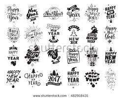 vintage style happy new year 2019 illustration free