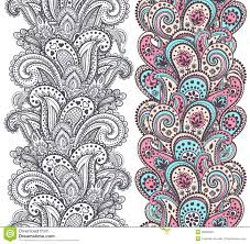 beautiful indian paisley ornaments stock vector image 39566525