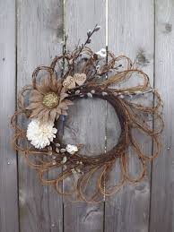 fall autumn grapevine wreath personalized wood by sendinspirations