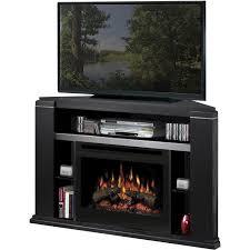 dimplex cloverdale 49 inch corner electric fireplace media console