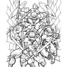 teenage mutan popular tmnt coloring pages coloring book
