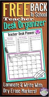 Back To School Desk Organization Back To School Write The Room Counting Cards Counting
