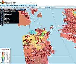 San Francisco On The Map by Heat Map Of San Francisco Foreclosures Real Data Sf