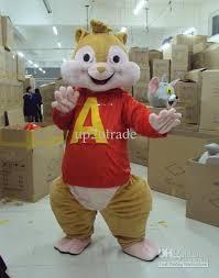 Halloween Mascot Costumes Cheap Alvin Mascot Squirrel Costume Alvin Chipmunks Mascot