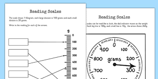 reading scales worksheets reading scales worksheet scales