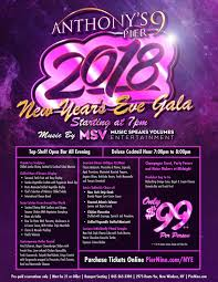 nye noisemakers new year s gala 2018 anthony s pier 9 the bonura