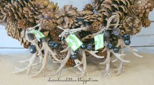 our hopeful home rustic diy antler pine cone wreath