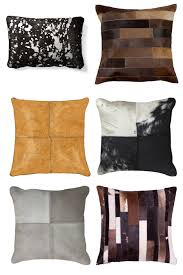 Cowhide Pillows Cowhide Pillows For The Home Horses U0026 Heels