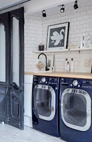 Tall Laundry Basket Stylish Cute Ideas To Steal From 10 Stylish And Functional Small Laundry Rooms