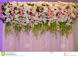 wedding backdrop flowers flower decorate backdrop stock photo image of luxury 33103778