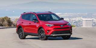toyota auto car 2017 toyota rav4 vehicles on display chicago auto show