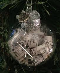 shabby chic kerst ornament