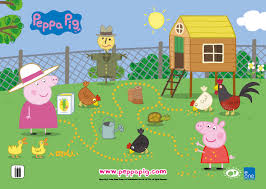 12 library program peppa pig images pigs