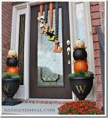 fall decorations for outside fall outdoor decorating ideas
