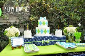 preppy bow tie birthday party a lo and behold life