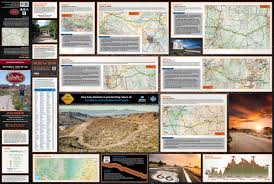 Route 66 Map by Historic Route 66 U2013 Butler Motorcycle Maps