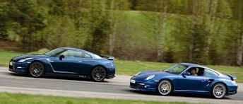porsche 911 turbo s 997 porsche 911 turbo s 997 stock vs switzer p800 nissan gtr carillo