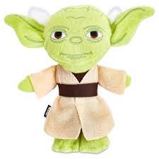 Star Wars Yoda Flattie Dog Toy Petco