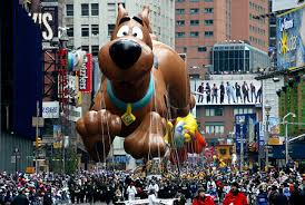 the annual thanksgiving day parade is one of the premiere