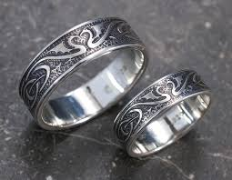 celtic wedding ring sets wedding ring set silver celtic