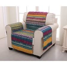 Patchwork Armchair For Sale Multi Slipcovers U0026 Furniture Covers Shop The Best Deals For Nov