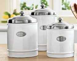 kitchen canisters canister white ceramic fluted design wood lid cl lid lock