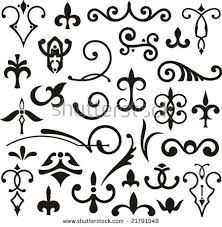 western flourish vector free vector stock graphics