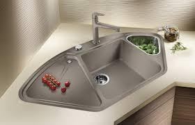 sink entertain kitchen sink corner design satiating unbelievable
