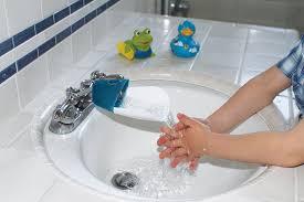 kitchen faucet extender prince lionheart faucet extender galactic grey