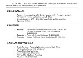 resume format lecturer engineering college pdf application resume sle format for ojt information technology students