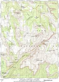 Utah National Park Map by Subway Zion National Park Canyoneering