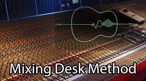 Studio Mixing Desks by Logic Pro X Mixing Tutorial Mixing Desk Method Youtube