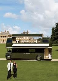 Vanity Restaurant The Double Decker Pleasure Of The Rosebury Britain U0027s Posh Bus