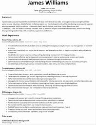 Supervisor Resume Templates 100 Account Payable Resume Accounts Payable Supervisor Resume
