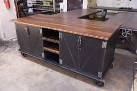 vintage industrial kitchen island crowdbuild for