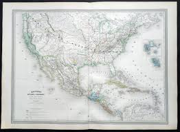 map of mexico and california 1858 dufour large antique map of california sw us