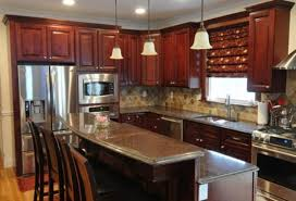Maple Kitchen Cabinet Dark Maple Kitchen Cabinets Inspiring Curtain Small Room With Dark